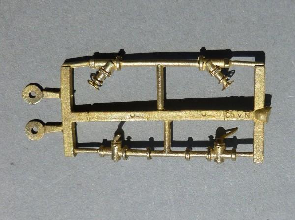 Ablaßventile für Fleischmann 192 hl Kesselwagen