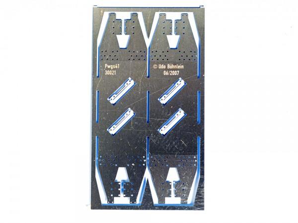Achshalter mit Achshaltersteg Pwgs41, mit Achshalterbrücke