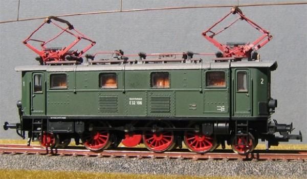 Beschriftungssatz Baureihen E32 und E52 der DB