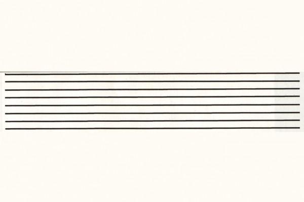 Zierlinien rot, RAL 3002, 0,2 mm breit