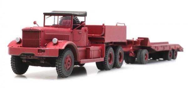 Diamond T LKW mit Anhänger - Bausatz