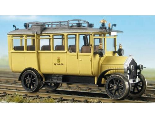 Oldtimer-Schienenomnibus der K.S.E., unmotorisiert