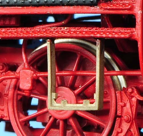Zugschlusslaternenhalter für Dampfloks