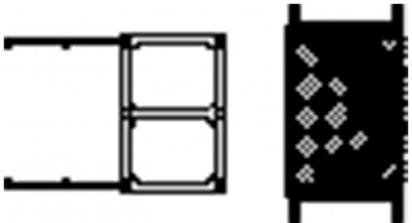 Dachschiebefenster mit Schutzgitter