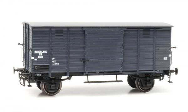 NS CHD 5m-Fahrwerk 8681, grau, Epoche III