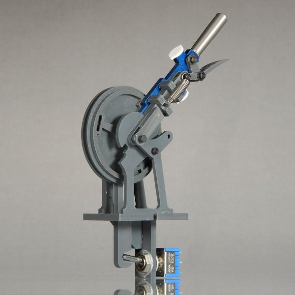 Weichen-/Riegelhebel (blau) für mechanisches Stellwerk - NT-Version