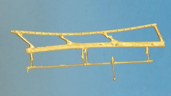 Verstärkungswinkel mit Schrauben, Öffnungsgestänge für Wasserkastendeckel / Sandkasten - Spur 0