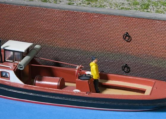 Eisenring zum Festmachen von Schiffen