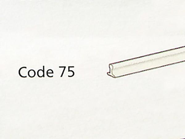 Code 75-Schienenprofile 914 mm lang